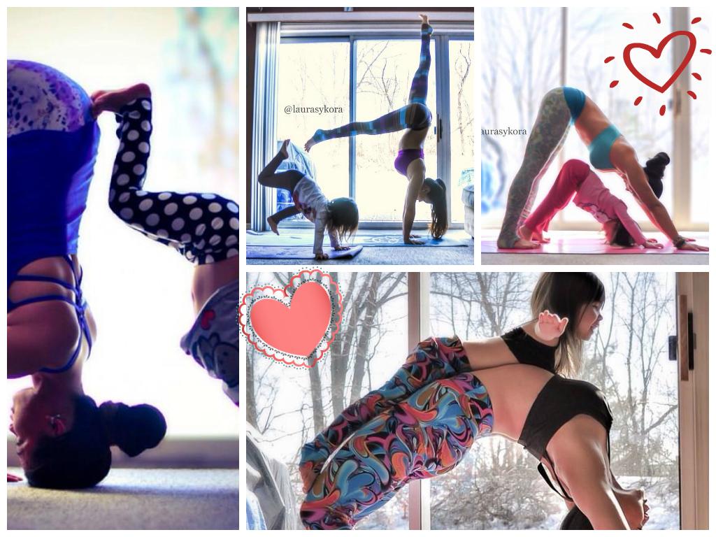 yoga mãe e filha