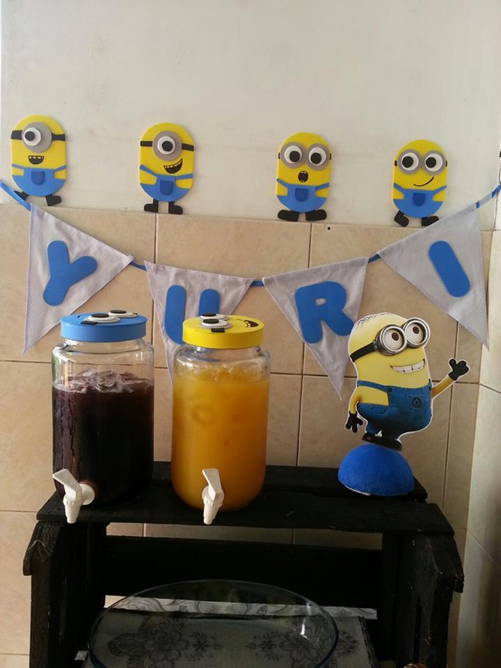 festa-minions-feita-em-casa